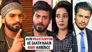 Ranveer Singh REACTS On BANNING Pakistani Actors In India [Video]