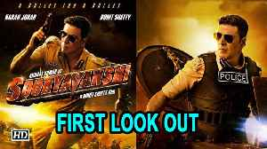Sooryavanshi | Akshay Kumar in Rohit Shetty's police universe | First Look Out [Video]