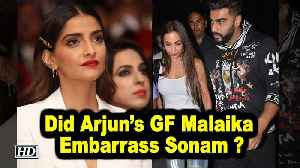 Did Arjun's GF Malaika Embarrass Sonam at a Party? [Video]