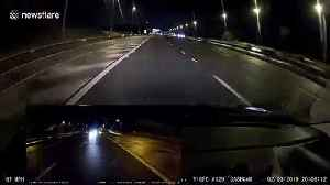 UK driver has hilarious reaction to drivers getting caught speeding on motorway [Video]