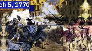 This Day in History: The Boston Massacre [Video]
