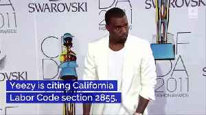 Kanye West Isn't Legally Allowed to Retire From Music [Video]