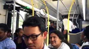Baseball bat used during intense fight on a public bus [Video]