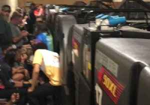 Bowlers Shelter in Back of Georgia Bowling Alley as Tornado Reported [Video]