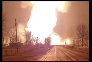 Gas Line Explosion Sparks Large Fire in Mexico, Missouri [Video]