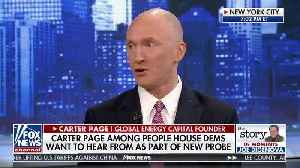 Carter Page weighs in on being part of new Dem probe [Video]