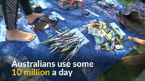 'Strawklers' collect plastic waste from Sydney's harbor [Video]