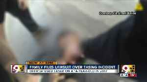 Family sues Cincinnati Police Department over officer's use of Taser on 14-year-old [Video]