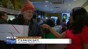 National Bakery is buzzing with business for National Paczki Day [Video]