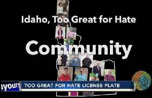 'Too Great for Hate' license plate to be introduced [Video]