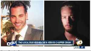 San Diego-based entrepreneur among those killed in helicopter crash in Kenya [Video]