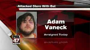 UPDATE: Jackson man came into store swinging a bat [Video]