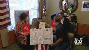Texas World War II Veteran Receives Thousands Of Cards For 100th Birthday [Video]