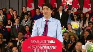 Canadian Prime Minister heckled at political rally [Video]