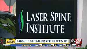 Federal lawsuits filed after closure of Laser Spine Institute [Video]