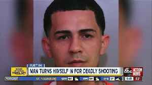 Convicted felon wanted in fatal Bartow shooting turns himself in [Video]