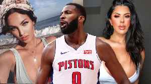 Andre Drummond Dating THREE Women At The SAME Time [Video]
