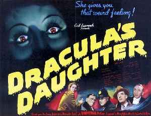 Dracula's Daughter Movie (1936) Otto Kruger, Gloria Holden, Marguerite Churchill [Video]