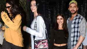 Kajol Avoids Media, Shraddha Kapoor, Siddhant Chaturvedi & WWE Superstars Watch Gully Boy [Video]