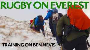 Rugby on Everest: Training on Ben Nevis! [Video]