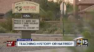 Teaching history or hatred? [Video]