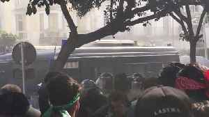 Security Forces Attempt to Disperse Algiers Presidential Protest [Video]