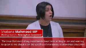 British MP speaks out in defense of LGBT content being removed from schools [Video]