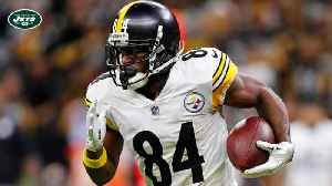 Ian Rapoport: New York Jets entering the mix as potential Pittsburgh Steelers wide receiver Antonio Brown suitor [Video]