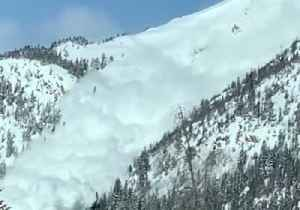 Workers Trigger Avalanche on Colorado Mountain; Interstate Highway Closed [Video]