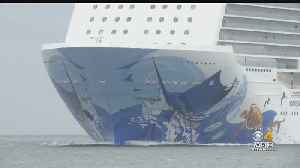 Cruise Ship Passengers Not Letting Rough Ride Ruin Vacation [Video]