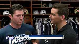 Casey Mize on the 'fast track' with Tigers [Video]
