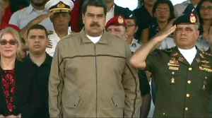 Maduro denounces 'minority of opportunists and cowards' [Video]