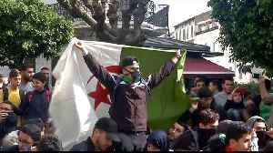 Armed with memes, Algerian students join anti-Bouteflika protests [Video]