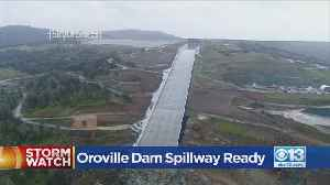 Testing The Oroville Spillway [Video]