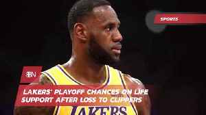 Lakers Lose To Clippers As Playoff Hopes Fade [Video]