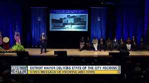 Detroit Mayor Mike Duggan delivers State of the City Address [Video]