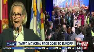 Tampa mayoral race to runoff, no candidate reaches 50% of vote [Video]