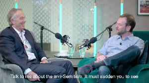 Labour Put Out Welcome Mat For Anti-Semites, Tony Blair Tells James O'Brien [Video]