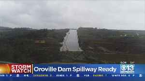 Rebuilt Oroville Dam Spillway Appears To Be Nearing 1st Test [Video]