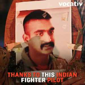 Indians Emulate Pilot's Handlebar 'Hero' Mustache As Sign of Patriotism [Video]