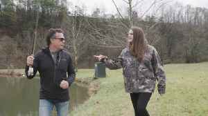 The Wilder Project: Jeff Fisher Teaches Charlotte Wilder How To Fly Fish [Video]