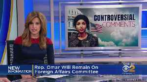 Rep. Omar Keeps Position On House Committee [Video]