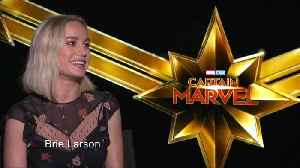 Brie Larson blasts off as Marvel's first leading lady [Video]