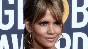 Halle Berry's Amazing Back Tattoo [Video]