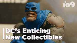 Awesome Batman Collectibles Announced From DC [Video]