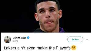 Lonzo ROASTED For TRASHING The Lakers In HILARIOUS Tweet! [Video]