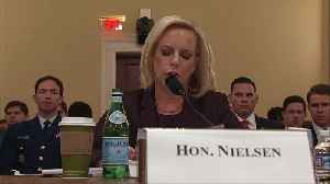 Nielsen grilled by Dems on border 'crisis' claims [Video]