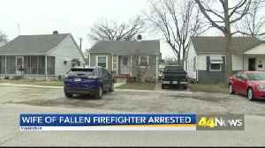 Wife Arrested In Firefighter's Death, Neighbor Reacts [Video]