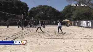 Beach Volleyball: Southern Miss vs. Tulane [Video]