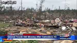 Several people still missing after tornadoes hit [Video]